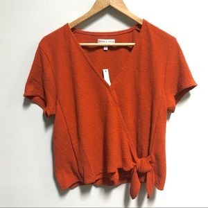 Madewell textured knit top